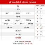 Phân tích kết quả XS Hồ Chí Minh thứ 2 ngày 29-6-2020
