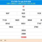 Phân tích kqxs Bến Tre ngày 2/6/2020, chốt số dự đoán