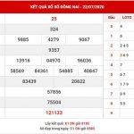 Phân tích KQXS Đồng Nai thứ 4 ngày 29-7-2020