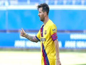 Barca thất bại nhưng Messi vẫn là số 1