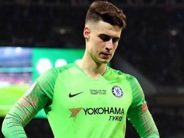 Chelsea sắp tống khứ thủ môn đắt nhất thế giới
