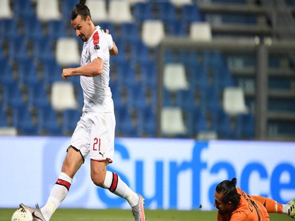 Ibrahimovic tỏa sáng lập cú đúp cho Milan