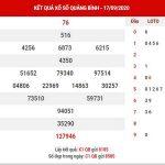 Phân tích XSQB ngày 24/9/2020 – Phân tích KQXS Quảng Bình thứ 5