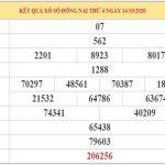 Phân tích KQXSDN ngày 21/10/2020 – Phân tích dự đoán xổ số Đồng Nai hôm nay