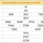 Phân tích KQXSKG ngày 25/10/2020 –  Dự đoán XSKG chủ nhật chính xác nhất