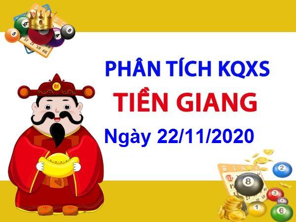 Phân tích KQXSTG ngày 22/11/2020 – Phân tích xổ số Tiền Giang hôm nay