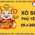 Phân tích xổ số Phú Yên thứ 2 ngày 25/1/2021