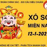 Phân tích sổ xố Miền Nam thứ 3 ngày 12/1/2021