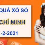 Phân tích xổ số Hồ Chí Minh thứ 7 ngày 27/2/2021