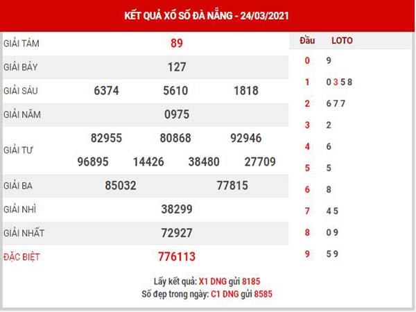 Phân tích XSDNG ngày 27/3/2021 - Phân tích KQ Đà Nẵng thứ 7 chuẩn xác