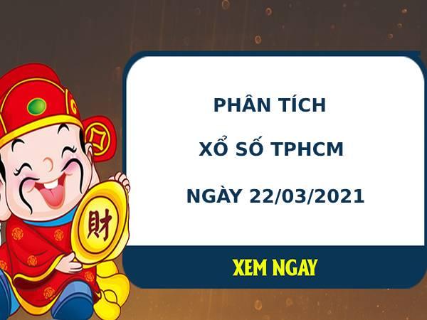 Phân tích kết quả XS TPHCM ngày 22/03/2021