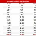 Phân tích XSMN ngày 16/4/2021 – Dự đoán xổ số miền Nam thứ 6