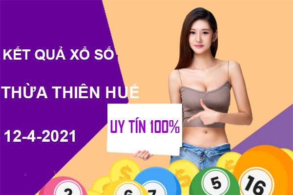 Phân tích XS Thừa Thiên Huế thứ 2 ngày 12/4/2021